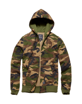 Redstone Hooded Woodland Camo