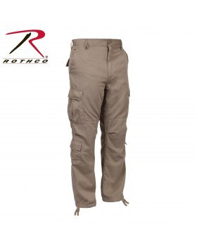 Vintage Paratrooper Fatigue Pants Khaki