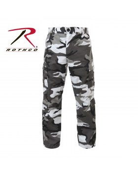 Vintage Camo Paratrooper Fatigue Pants City Camo