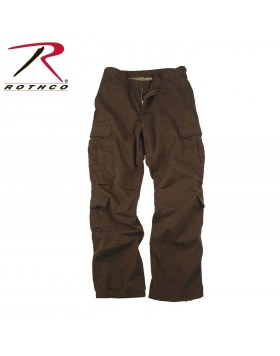 Vintage Paratrooper Fatigue Pants Brown