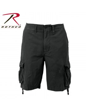 Vintage Infantry Utility Shorts Black
