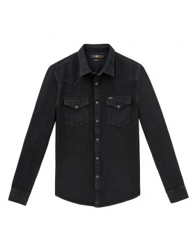 Western Shirt Lee Black