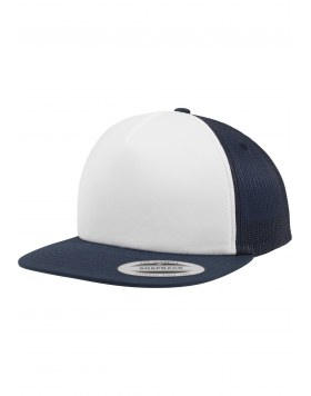 Foam Trucker with White Front Flexfit NWN