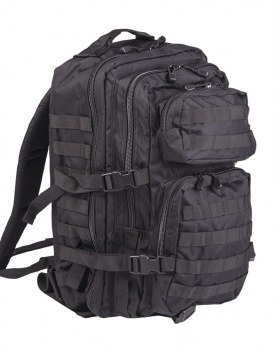US ASSAULT PACK LG SCHWARZ