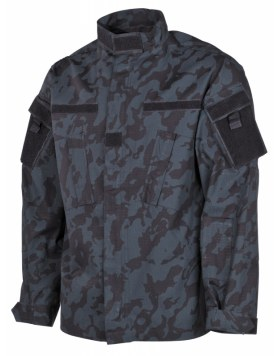 US FELDJACKE, ACU, RIP STOP, NIGHT-CAMO
