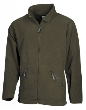 "FLEECE-JACKE, ""ARBER"", OLIV"