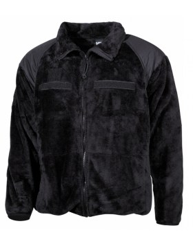 "US FLEECE-JACKE, GEN III, LEV.3, ""COLD WEATHER"", SCHWARZ"