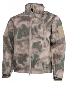 "SOFT SHELL JACKE, ""SCORPION"", HDT-CAMO FG"