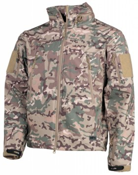 "SOFT SHELL JACKE, ""SCORPION"", OPERATION-CAMO"