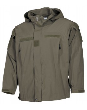 US SOFT SHELL JACKE, OLIV, GEN III, LEVEL 5