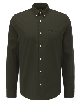 Langarmhemd Lee Button Down Serpico Green