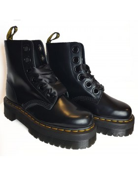 Dr. Martens Boot Molly 6 Eye Black Buttero