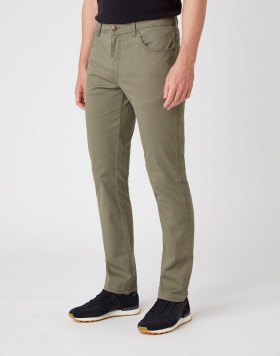 Jeans Texas Slim Dusty Olive Wrangler